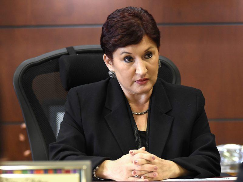 Thelma Aldana lidera intención de voto según encuesta Mitofsky
