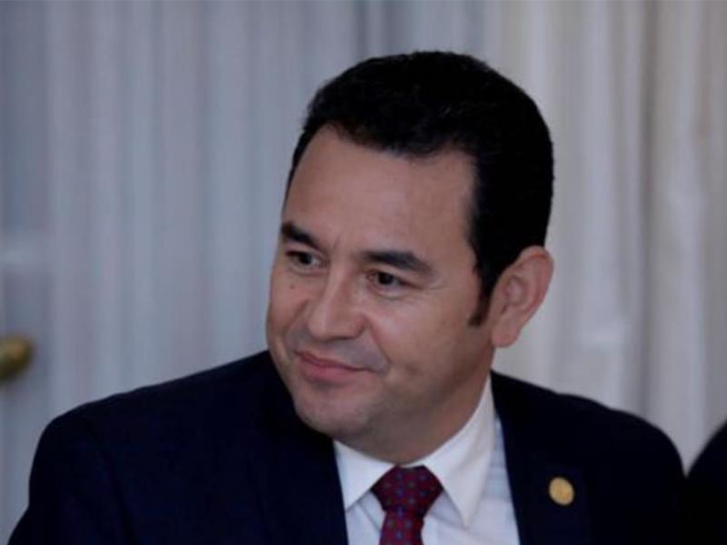 El 80% de los guatemaltecos reprueba al gobierno de Jimmy Morales