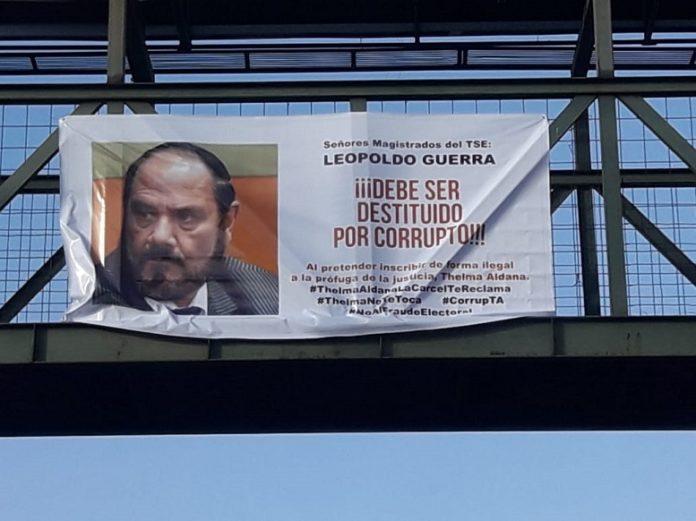 Leopoldo Guerra sigue bajo ataque por inscripción de  Thelma Aldana