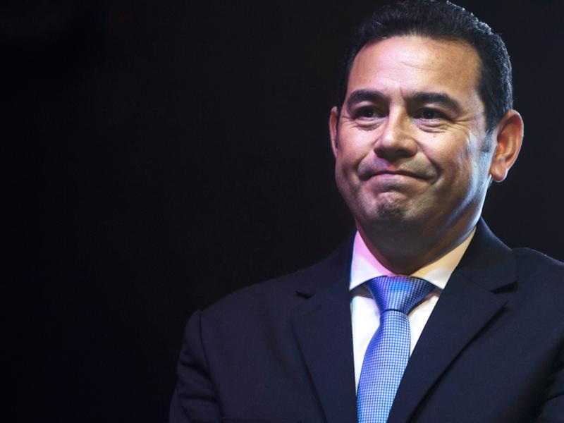 El 80% de los guatemaltecos reprueba el trabajo de Jimmy Morales