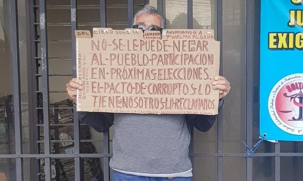 Ciudadano le envía un fuerte mensaje al Pacto de Corruptos