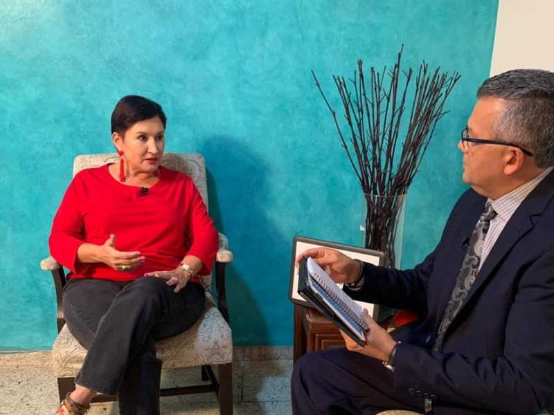 Aldana afirma su compromiso para sacar a Guatemala de un sistema corrupto