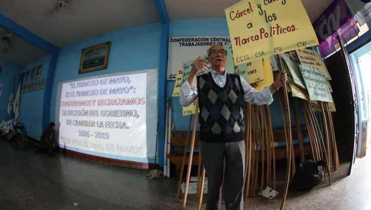 Organizaciones sociales manifiestan apoyo a la lucha contra la corrupción