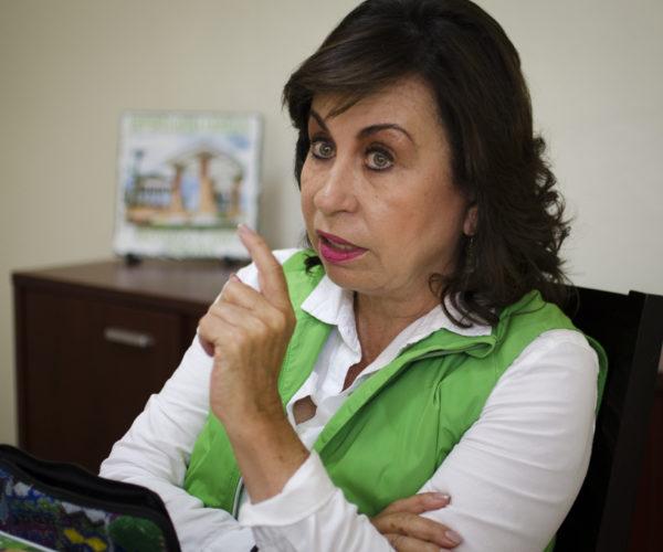 Sandra Torres busca la presidencia cueste lo que cueste