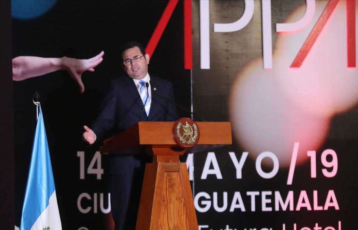 Jimmy Morales afirma que Guatemala crece económicamente más que Estados Unidos
