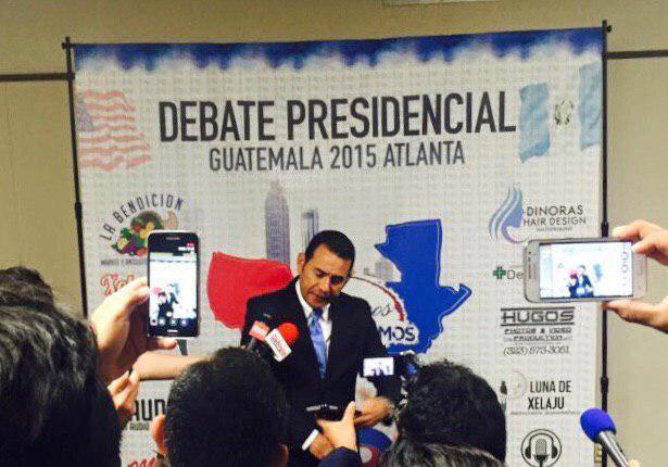 Jimmy Morales traicionó a  guatemaltecos radicados en Estados Unidos de quienes recibió $150 mil para su campaña