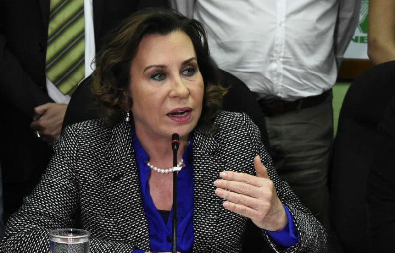 Sandra Torres advierte como sería su Gobierno con su actitud de censura a la prensa y al Estado