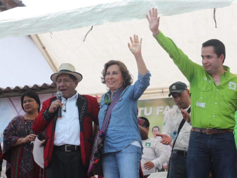 Sandra Torres hace propuestas desesperadas para ganar votos