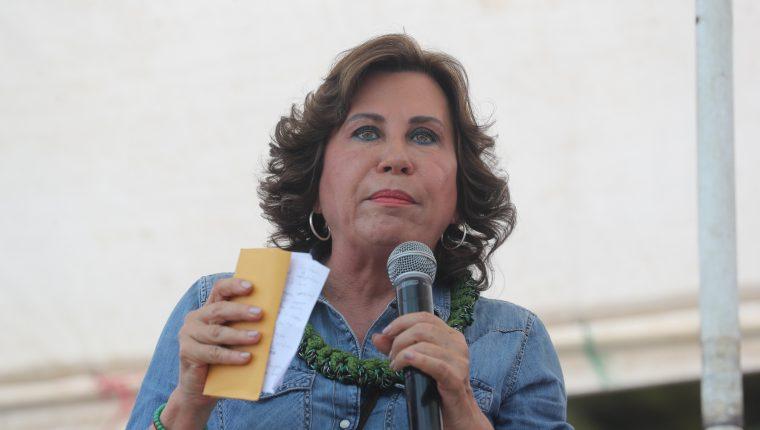 Sandra Torres se gana el repudio al pretender ser «amiga de la prensa»