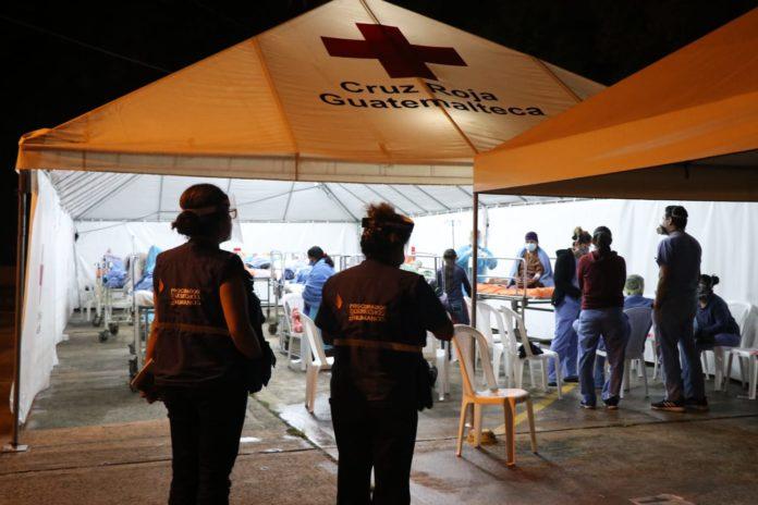 Hospitales del país saturados por pacientes con coronavirus