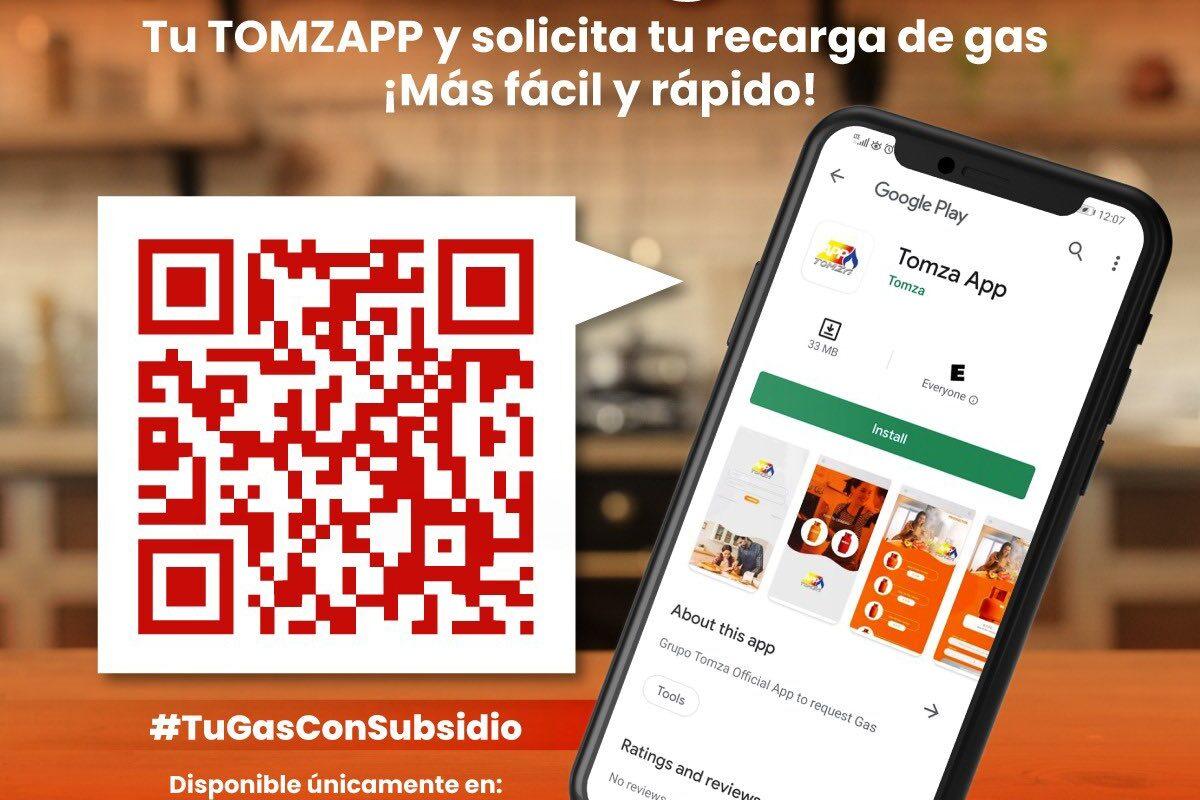 Tomzapp la innovadora App de El Salvador para pedir gas a domicilio
